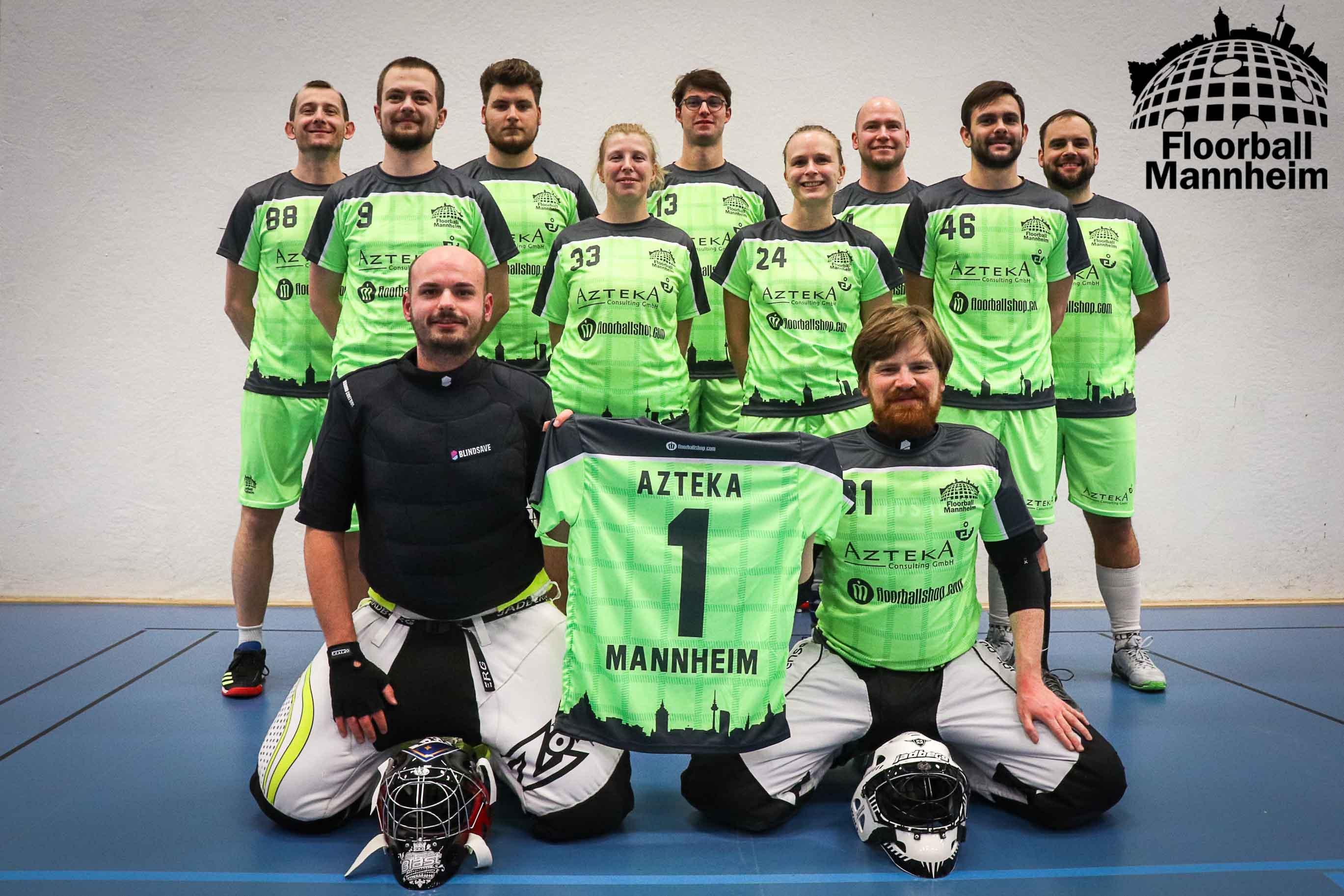 Die Mannschaft Floorball Mannheim